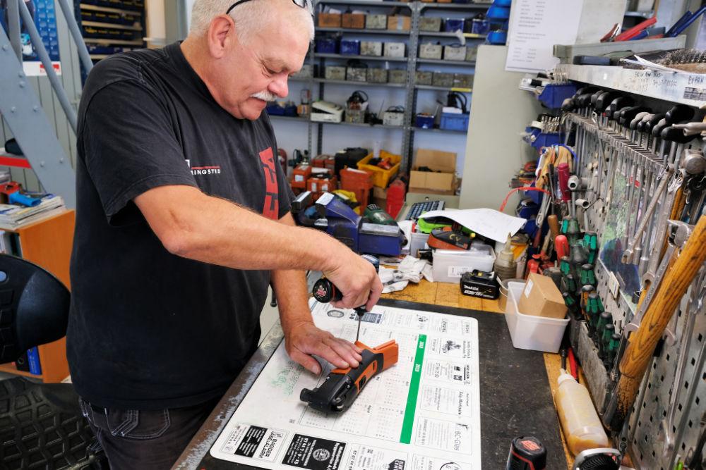 Service og reparation af elværktøj